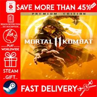 Mortal Kombat 11 Premium Edition (STEAM GIFT) 🎁🎁🎁 (get a bonus game 🎮 and a discount 💵 for the next purchase)