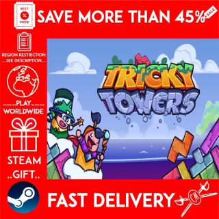 Tricky Towers (STEAM GIFT)🎁🎁🎁 (get a bonus game 🎮 and a discount 💵 for the next purchase)
