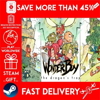Wonder Boy: The Dragon's Trap (STEAM GIFT)🎁🎁🎁 (get a bonus game 🎮 and a discount 💵 for the next purchase)