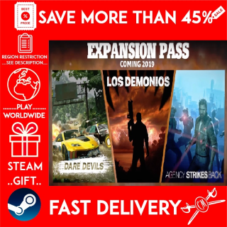 Just Cause 4: Expansion Pass ❗DLC❗ (STEAM GIFT)🎁🎁🎁 (get a bonus game 🎮 and a discount 💵 for the next purchase)
