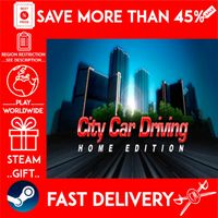 City Car Driving (STEAM GIFT) 🎁🎁🎁 (get a bonus game 🎮 and a discount 💵 for the next purchase)