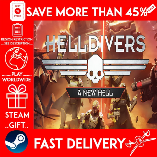 HELLDIVERS™ A New Hell Edition (STEAM GIFT) 🎁🎁🎁 (get a bonus game 🎮 and a discount 💵 for the next purchase)