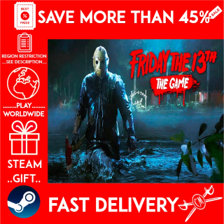 Friday the 13th: The Game (STEAM GIFT)🎁🎁🎁 (get a bonus game 🎮 and a discount 💵 for the next purchase)