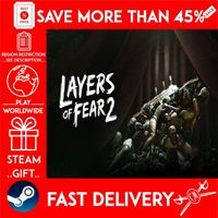 Layers of Fear 2 (STEAM GIFT)🎁🎁🎁 (get a bonus game 🎮 and a discount 💵 for the next purchase)