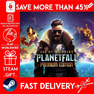 Age of Wonders: Planetfall Premium Edition (STEAM GIFT) 🎁🎁🎁 (get a bonus game 🎮 and a discount 💵 for the next purchase)