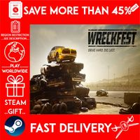 Wreckfest (STEAM GIFT) 🎁🎁🎁 (get a bonus game 🎮 and a discount 💵 for the next purchase)