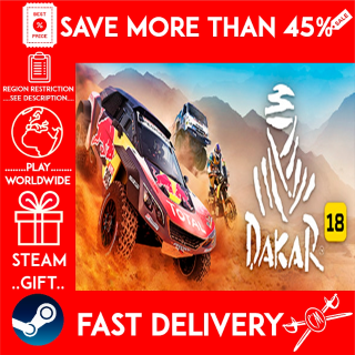 Dakar 18 (STEAM GIFT)🎁🎁🎁 (get a bonus game 🎮 and a discount 💵 for the next purchase)