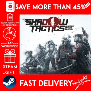 Shadow Tactics: Blades of the Shogun (STEAM GIFT)🎁🎁🎁 (get a bonus game 🎮 and a discount 💵 for the next purchase)