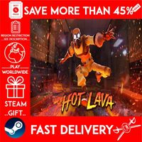 Hot Lava (STEAM GIFT) 🎁🎁🎁 (get a bonus game 🎮 and a discount 💵 for the next purchase)