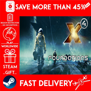 X4 Foundations (STEAM GIFT)🎁🎁🎁 (get a bonus game 🎮 and a discount 💵 for the next purchase)
