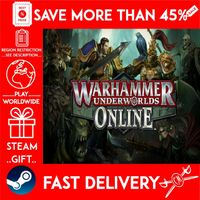 Warhammer Underworlds: Online (STEAM GIFT) 🎁🎁🎁 (get a bonus game 🎮 and a discount 💵 for the next purchase)