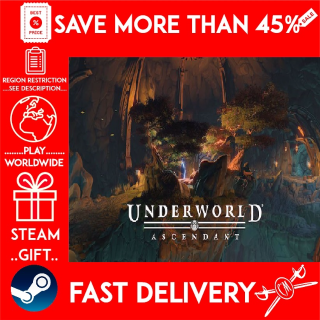 Underworld Ascendant (STEAM GIFT)🎁🎁🎁 (get a bonus game 🎮 and a discount 💵 for the next purchase)