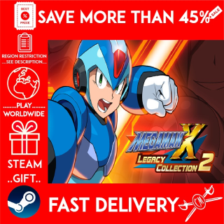 Mega Man X Legacy Collection 2 (STEAM GIFT)🎁🎁🎁 (get a bonus game 🎮 and a discount 💵 for the next purchase)