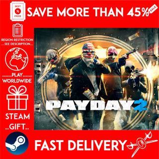 PAYDAY 2 (STEAM GIFT)🎁🎁🎁 (get a bonus game 🎮 and a discount 💵 for the next purchase)