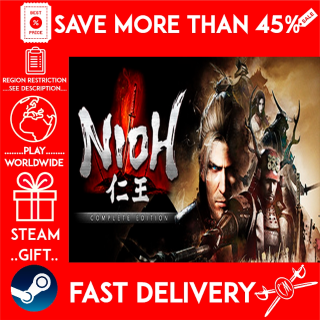Nioh: Complete Edition / 仁王 Complete Edition (STEAM GIFT) 🎁🎁🎁 (get a bonus game 🎮 and a discount 💵 for the next purchase)