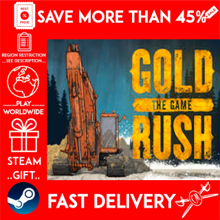 Gold Rush: The Game (STEAM GIFT)🎁🎁🎁 (get a bonus game 🎮 and a discount 💵 for the next purchase)