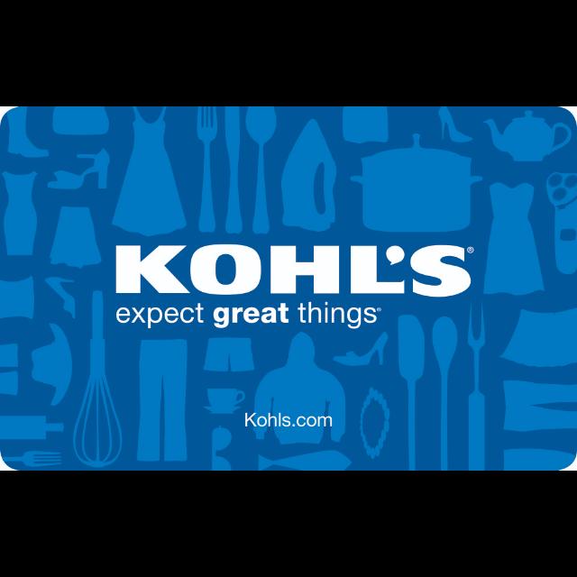 $10.00 Kohl's Gift Card USA