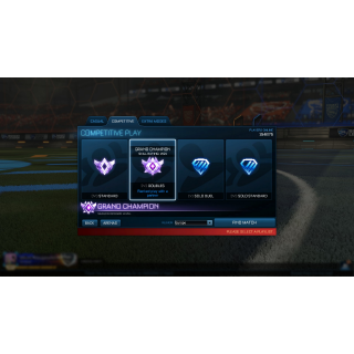 I will Carry you in rocket league