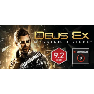 Deus Ex: Mankind Divided Steam Key