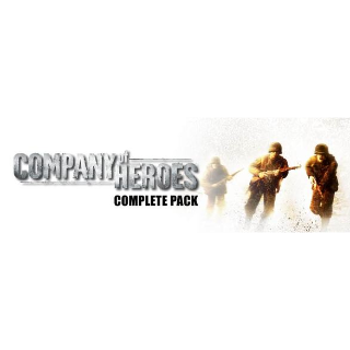 Company of Heroes Complete Edition Steam Key [INSTANT]