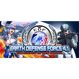 EARTH DEFENSE FORCE 4.1 The Shadow of New Despair Steam Key