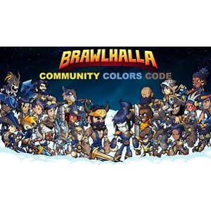 Brawlhalla community colours steam key - Other - Gameflip