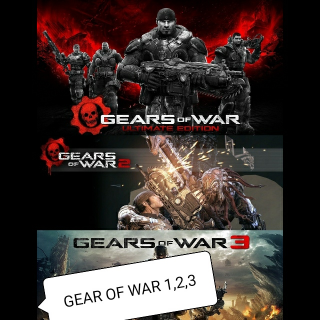 Gears of War -Ultimate Edition- Gears 2 and 3  [𝐈𝐍𝐒𝐓𝐀𝐍𝐓 𝐃𝐄𝐋𝐈𝐕𝐄𝐑𝐘]