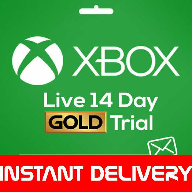 XBOX LIVE 14 Day GOLD Trial Membership Code - XBOX LIVE 2 Weeks 14 Days