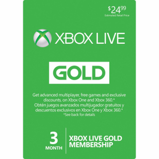 🎮Xbox Live Gold - 3 Month - GLOBAL🎮