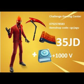 Fortnite Inferno Challenge Pack