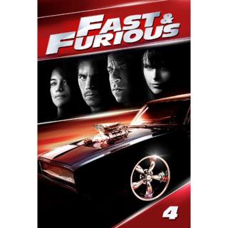 Fast & Furious (Movies Anywhere/Vudu)