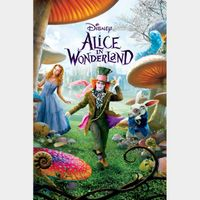 Alice in Wonderland (Movies Anywhere/Vudu/Fandango Only)