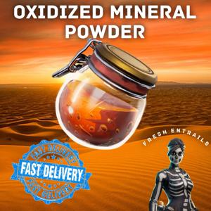 Oxidized Mineral Powder   1000x