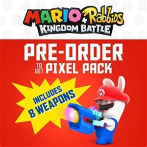 Mario+Rabbids Kingdom Battle - Preorder Only Pixel Pack | Digital Code