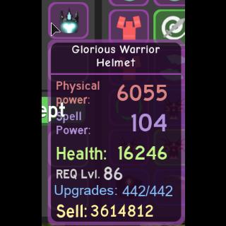 Gear | glorious warrior helmet
