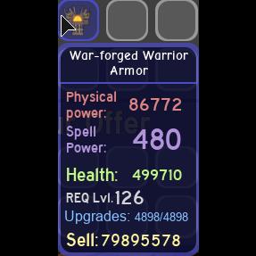 Gear | war-forged warrior armor