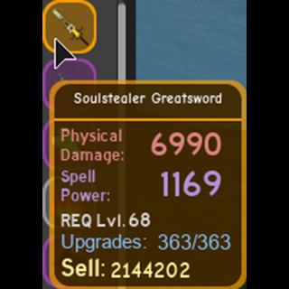 Gear | soulstealer greatsword
