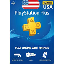 PlayStation Plus 12 months (USA)