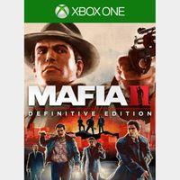 Mafia II: Definitive Edition [Region US] [Xbox One Game Key] [Instant Delivery]