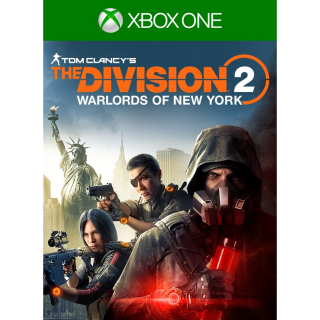 The Division 2 - Warlords of New York Edition [Region US] [Xbox One Game Key] [Instant Delivery]