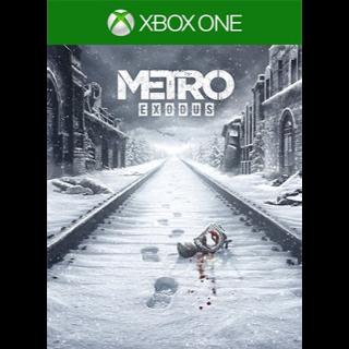 Metro Exodus [Xbox One Game Key] [Region US]