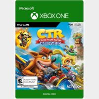 Crash Team Racing Nitro-Fueled [Region US] [Xbox One Game Key] [Instant Delivery]