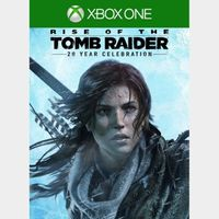(US) Rise of the Tomb Raider: 20 Year Celebration [Xbox One Game Key] [Region US] [Instant Delivery]