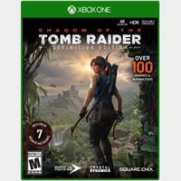 Shadow of the Tomb Raider Definitive Edition [Region US] [Xbox One Game Key] [Instant Delivery]