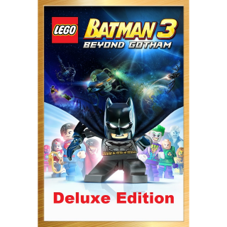 LEGO Batman 3: Beyond Gotham Deluxe Edition [Xbox One Game Key] [Region✔️US] [Auto Delivery]