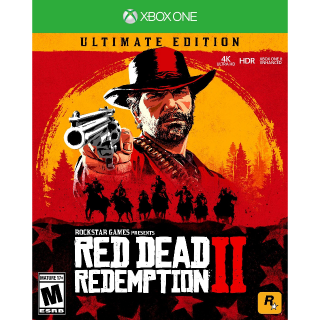 Red Dead Redemption 2: Ultimate Edition [Xbox One Game Key] [Region✔️US] [Auto Delivery]