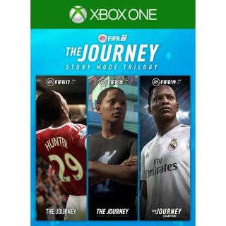(FIFA 19, 18, 17) FIFA The Journey Trilogy [Xbox One] [Region US] [Auto Delivery]