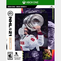 [+ $5 OFF] NHL 21 Deluxe Edition [Region US] [Xbox One Game Key]