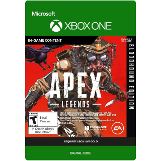 Apex Legends - Bloodhound Edition [US] [Xbox One] [IN-GAME CONTENT] [Instant Delivery]