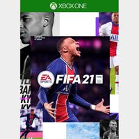 [+Get $3!] FIFA 21 Standard Edition [Region US] [Xbox One Game Key] [Instant Delivery]